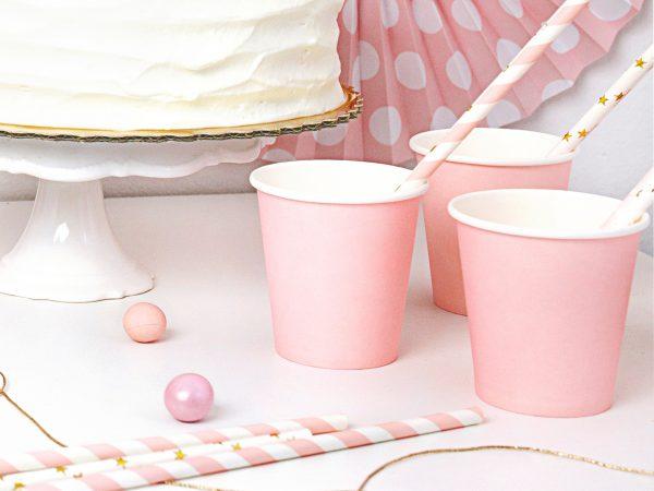 Bekers roze (6 st.)