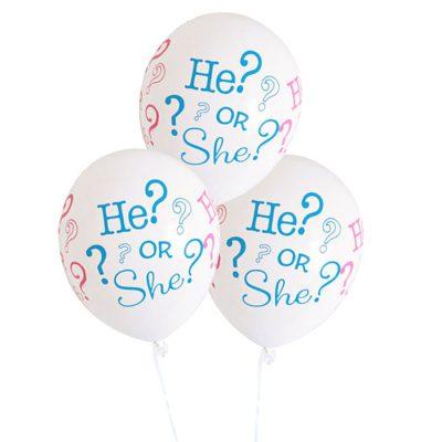 He or She? ballonnen (10 st.)