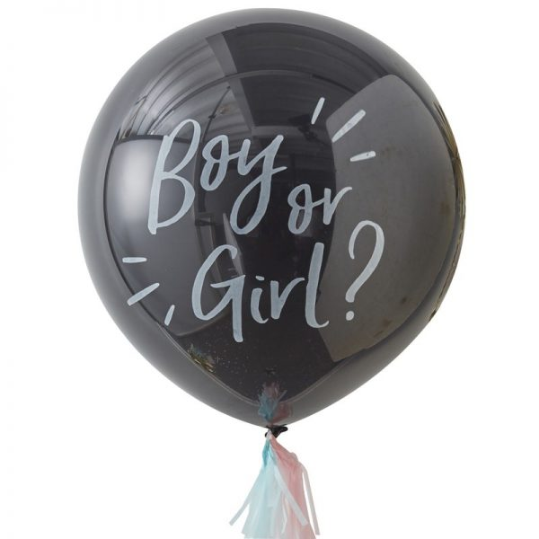 Gender Reveal - Ballon Pakket, Boy or Girl?
