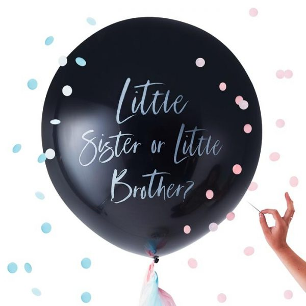 Gender Reveal - Ballon Pakket, Brother or Sister?
