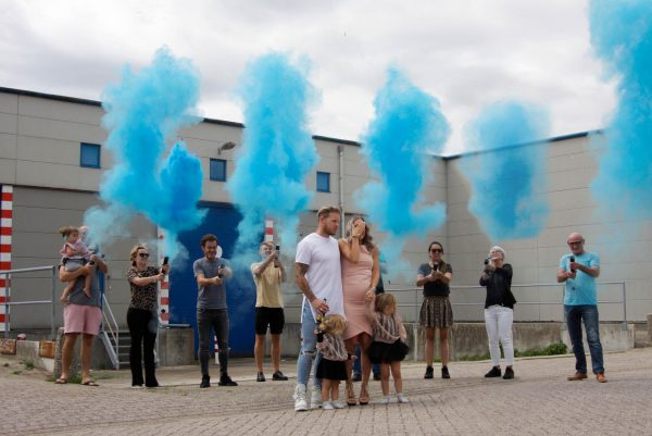 Gender Reveal - D.I.Y. poederkanon