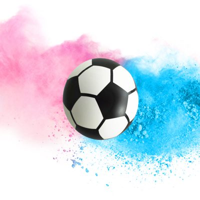 Gender Reveal - Voetbal (DIY)