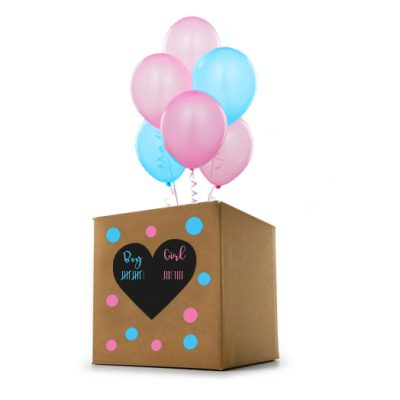 Gender Reveal - Pick & Mix doos