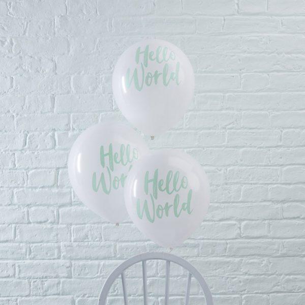 Hello World ballonnen (10 st.)