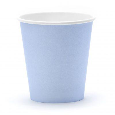 Bekers blauw (6 st.)