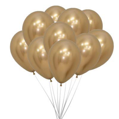 Ballonnen (10 st.) - Goud, metallic