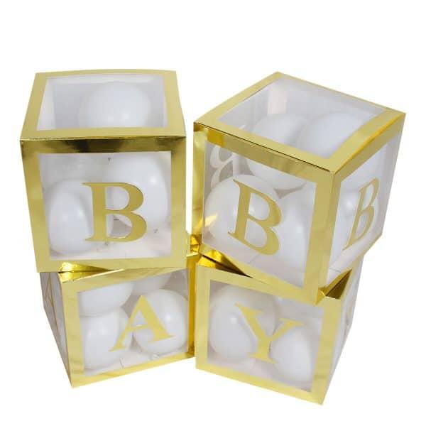 letterblokken goud