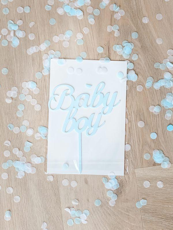 Taarttopper - Baby boy, Baby Girl - Jongen