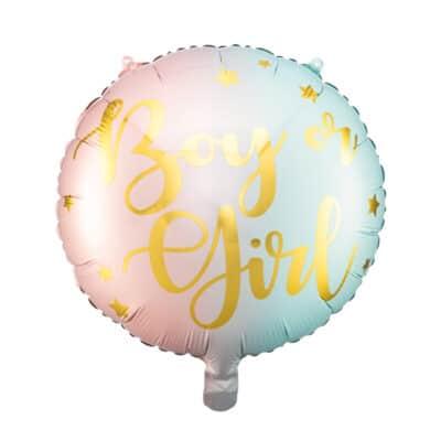 boy or girl folie ballon