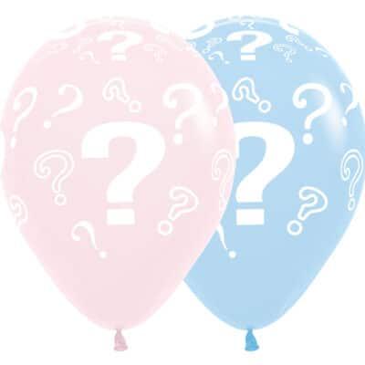 vraagteken ballonnen